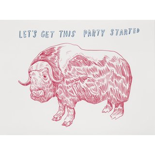Untitled (Let's Get the Party Started) art for sale