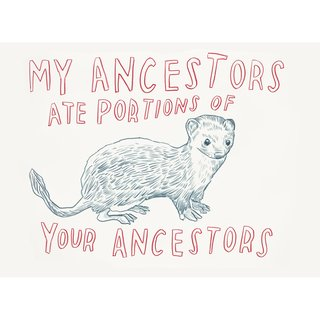 Untitled (My Ancestors Ate Portions of Your Ancestors) art for sale