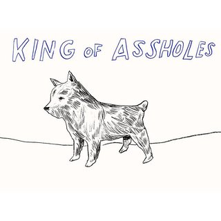 Untitled (King of Assholes) art for sale