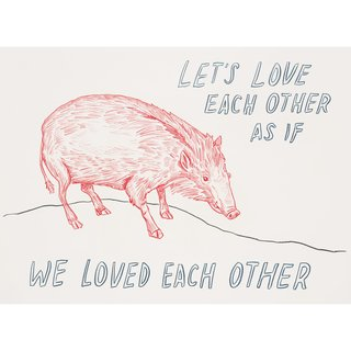 Untitled (Let's Love Each Other) art for sale