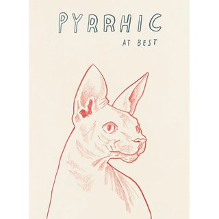Untitled (Pyrrhic At Best) art for sale