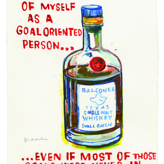 I Like To Think Of Myself As A Goal Oriented Person art for sale