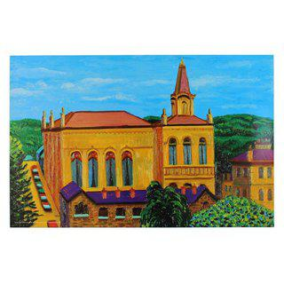 Victoria Hall, Saltaire art for sale