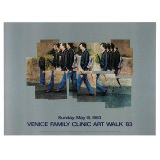 Gregory Walking poster (Venice Family Clinic Art Walk) art for sale