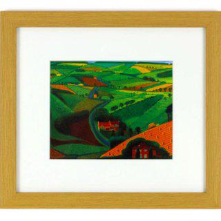 The Road Across the Wolds art for sale