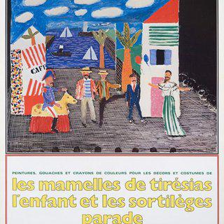 Les Mamelles de Tiresias art for sale