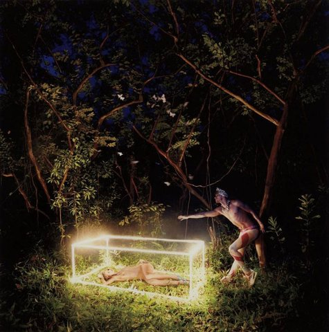 David Lachapelle - Poems Of My Soul and Immortality, Hawaii 2009, Photograph