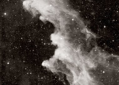 work by David Malin - IC 2118, the Witch's Head nebula, in Eridanus