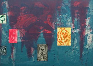 David Salle - Untitled from Canfield Hatfield