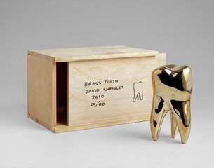 Brass Tooth , by David Shrigley
