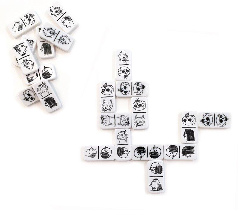 David Shrigley Domino Set For Sale Artspace