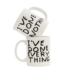 I've Done Everything Mug Set (2), by David Shrigley