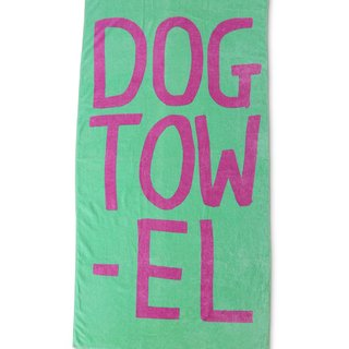 Dog Beach Towel art for sale