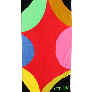 It's OK Beach Towel art for sale