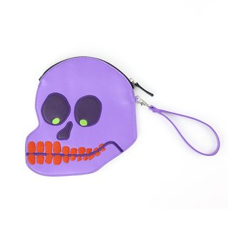 Embroidered Skull Purse art for sale