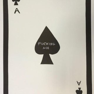 Fucking Ace (Linocut) art for sale