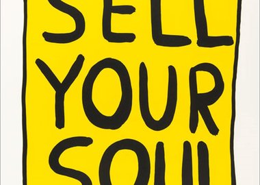 work by David Shrigley - Sell Your Soul