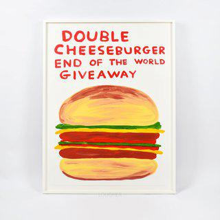 Double Cheeseburger End of the World Giveaway art for sale