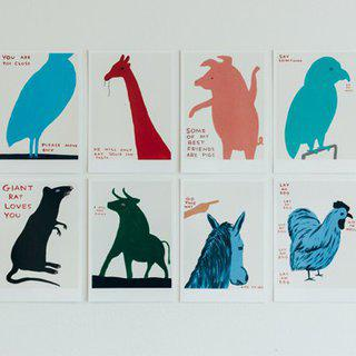 The Animals Series (x8) art for sale