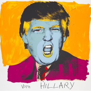 Vote Hillary art for sale