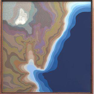 Relief Map art for sale