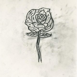 Donald Baechler, Rose drawing
