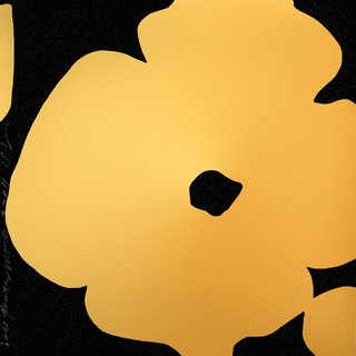 Donald Sultan, Gold Flowers, March 3, 2011