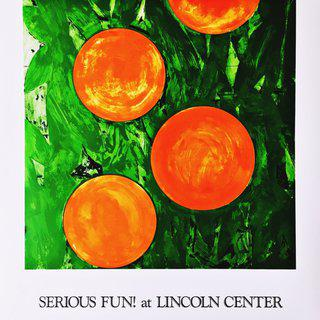 Serious Fun! at Lincoln Center (Hand Signed) art for sale