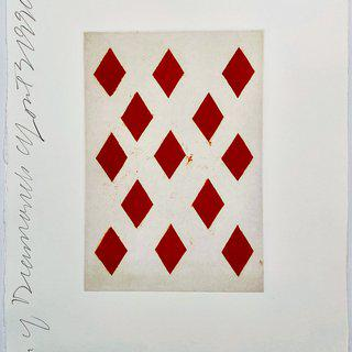 Playing Cards: Ten of Diamonds art for sale