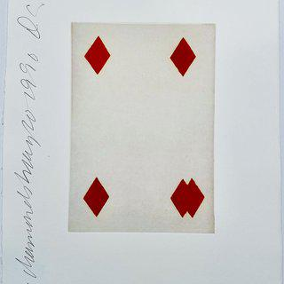 Playing Cards: Four of Diamonds art for sale