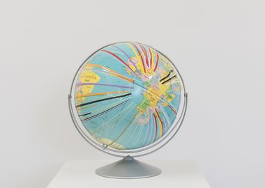 work by Douglas Coupland - Pacific Trash Gyre No. 23