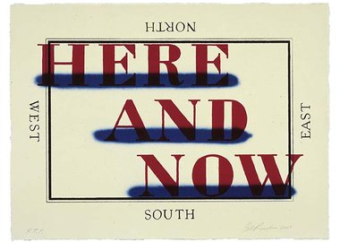 Ed Ruscha - Here and Now