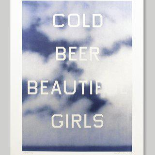 Cold Beer Beautiful Girls art for sale