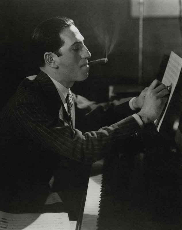 Edward Steichen, Cecil Beaton, and Anton Bruehl, Five Limited Edition Portraits from the archives of Vanity Fair - George Gershwin by Edward Steichen