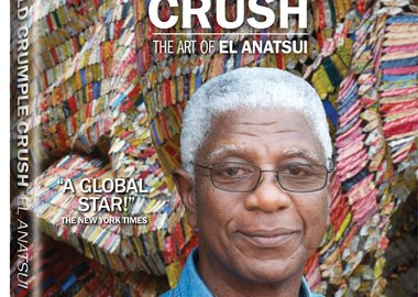 work by El Anatsui - Fold Crumple Crush: The Art of El Anatsui