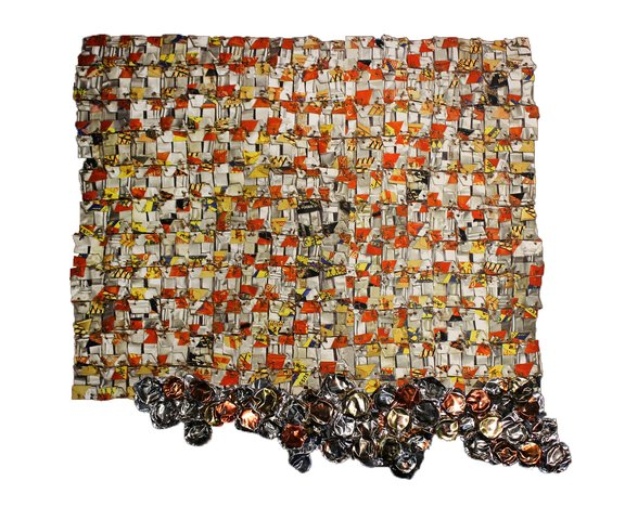 El Anatsui - Paper and Gold
