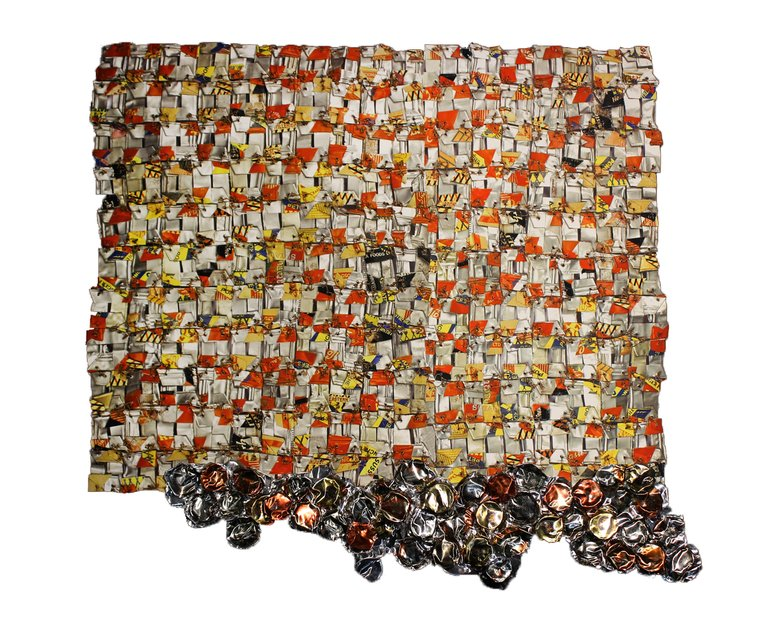 El Anatsui, Paper and Gold