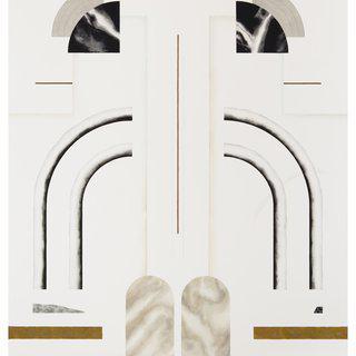 Elena Alonso, Untitled (Façade-Fronton 5)