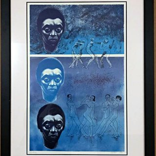 Blues art for sale