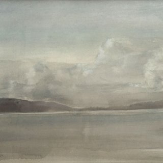 Clouds over Narrows (Lake Champlain) art for sale