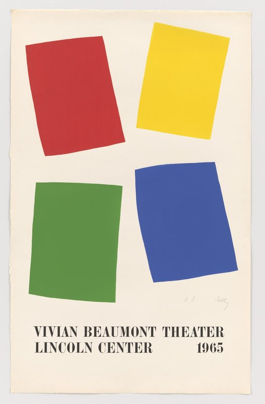 Ellsworth Kelly, Vivian Beaumont Theater, Lincoln Center