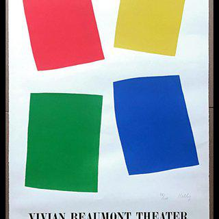 Ellsworth Kelly, Vivian Beaumont Theater, Lincoln Center, NYC (Axsom IIE)