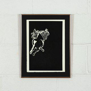 Horse (From the book Bestiary by Bradford Morrow) art for sale