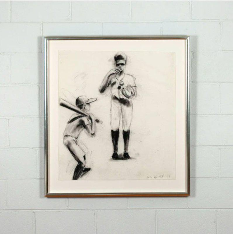 by eric_fischl - (Study for) Boys at Bat