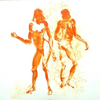 Eric Fischl, Two Girls Dancing for L.R.