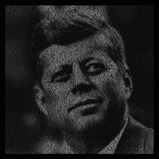 Homage to JFK art for sale