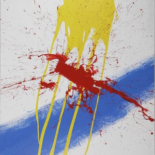 Blue, Yellow, and Red Picture art for sale