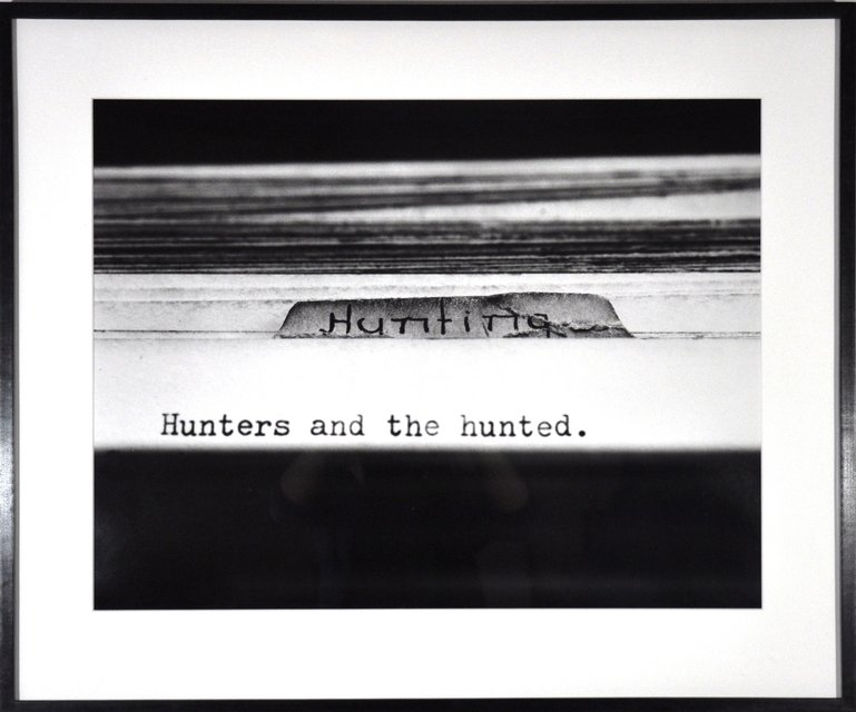 Erica Baum, Hunters and the Hunted