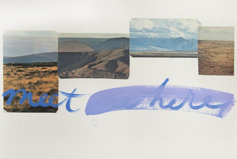 Erin Rachel Hudak - meet me here, mountains for Sale   Artspace