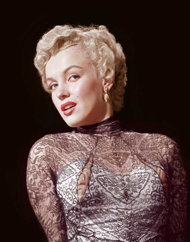 a67ef17f02c377 Ernest Bachrach - Marilyn Monroe Rare Colorized Closeup for Sale ...